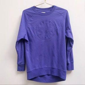 Converse long sleeve shirt purple 13-15 yrs XL